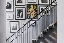 Beautiful stairway designs / Inspiration on making art a beautiful feature of your home - stairway edition