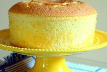 Lemon chiffon cake recipes