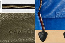 Campos Bags / Classic leather-crafted bags made in Brooklyn using all American materials!