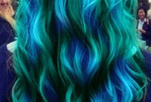 Hair and Nails / Hairstyles, color and nail art