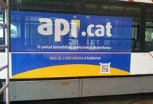 Imágenes Api.cat / Logos, imágenes y anuncios que identifican al portal api.cat