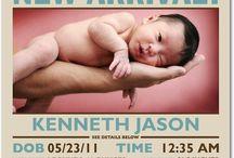 Birth Announcement / by Cassie Lehiy