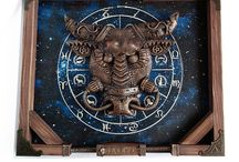 Panel zodiac steampunk