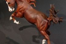 Art - фигурки лошадей