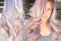 Păr colorat