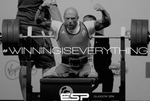 ESP Fitness Winning Is Everything / ESP Fitness Motivation Board featuring ESP Management & Ambassadors - Winning Is Everything