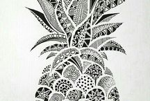 pineapple art ideas