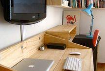 scrivania salotto