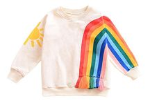RAINBOW BRIGHT / Rainbow themed fashion, décor and accessories for kids.