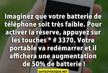 Astuces iPhone / Reserve batterie