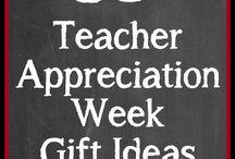 teacher appreciation / by Andi Mitchell