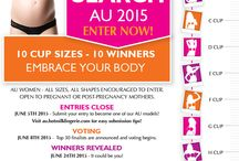 Australian Hotmilk A - J Cup Model Search / by Hotmilk Lingerie