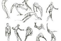 Limb/Body Guides/Poses
