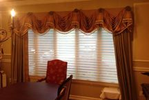 Custom Draperies / A surefire way to add sweeping drama to a room is with custom-made draperies!