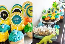 Eli James 2nd Birthday-Dino-mite