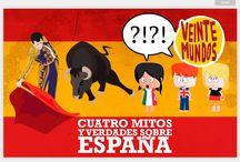 LOS ESPAÑOLES / Materiales sobre la imagen de los españoles: tópicos y estereotipos.