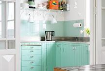 Update the kitchen / Ska göra om i köket. Ingen större renovering - bara måla och göra lite småfix! / by Helene Johansson