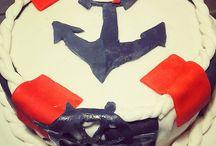 gâteau marin / Idée gâteau d'anniversaire