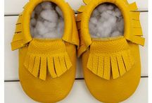 moccasins/leather
