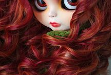 blythe doll-- custom