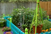 Garden inspiration / Fun, cool and inexpensive ideas for the garden and other outside areas