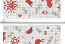 Cross Stitch: Ubrusy a bordury