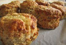 scones, bread, pastry