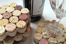 Wine corks coasters