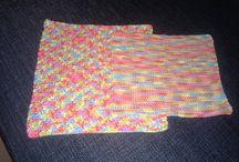 mine hobbyprojekter / mine strikkede og hæklede ting