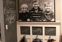 Back To School / Inspiration for your kids heading back to school and ways to brighten up their studying space