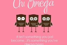 Chi Omega Your's Forever