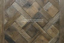NOBLE WOODS Reclaimed Engineered Oak Flooring and Architectural Wall Cladding / As regal as the name refers, NOBLE WOODS reclaimed engineered oak floors and elm architectural wall cladding have a magnificence esteemed for royal footprints (and fingertips).  Using 200+ year old reclaimed oak and elm planks and hand worked on either the exterior or interior surface, distinct collections are revealed. These are hand-crafted, artisinal reclaimed oak floors and architectural wood wall cladding that bring forth into one's home a hushed beauty.