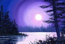 moonlight pictures of art