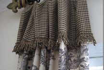 Curtain / drape window