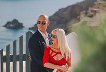 Stefan & Tatiana - Casual Photoshoot in Santorini