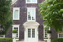 Hamptons/Cape Cod Cottages & Houses / styletomoveblog.blogspot.ca