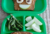 kid lunches / by Kell ie