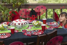 Ladybug Garden Birthday Party / Host a garden birthday party for your little ladybug