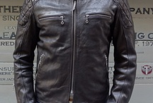 vintage cafè racer leather jacket