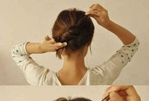 Hairstyles / Hairstyles  Hair tutorial  Hairstyle hacks