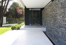 Great Stone Designs / House and Home Design ideas using stone
