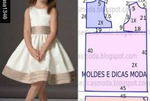 Girls dresses sewing