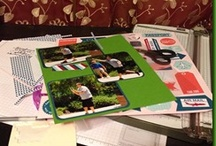 Scrapbook Layouts Using Stampin' Up Products  / Scrapbook pages made with Stampin' Up Products