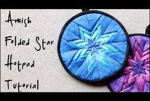 Amish star trivet
