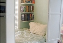 Sleep Spaces / Great places to rest your head, amazing spaces in which to dream (and do all those other fantastic things!!)