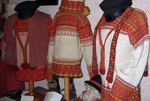 tricot rtechnique Korsnäs Tapestry Crochet (Finland) / une technique particulière mélant tricot et crochet en Finlande
