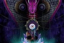 Snake Symbolism Art