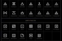 symbole, figury