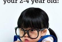 Preschool age activities
