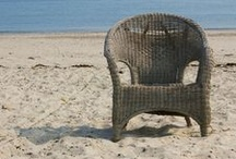 Coastal Furniture / Design inspiration for decorating your home with beach-themed furniture
